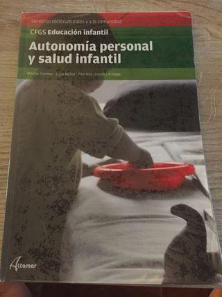 Libro Autonomia personal y salud infantil