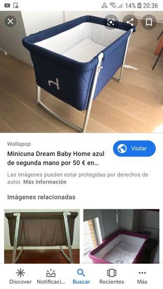 babyhome dream cuna bebe con accesorios