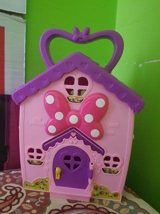 Casa maletín Minnie mouse