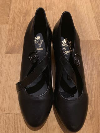 Chaussures de flamenco fille