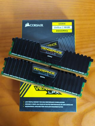 Ram Corsair 16gb 3000mhz cl15