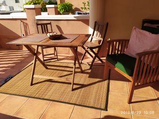 alfombras de bambu