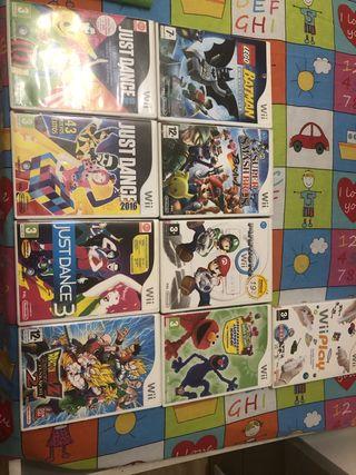 Lote de consola Xbox y wii con juegos y mandos