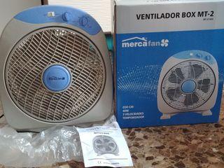 Ventilador NUEVO.3velocidades-40W-Temporizador 1h