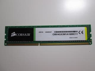 MEMORIA RAM CORSAIR 4GB DDR3
