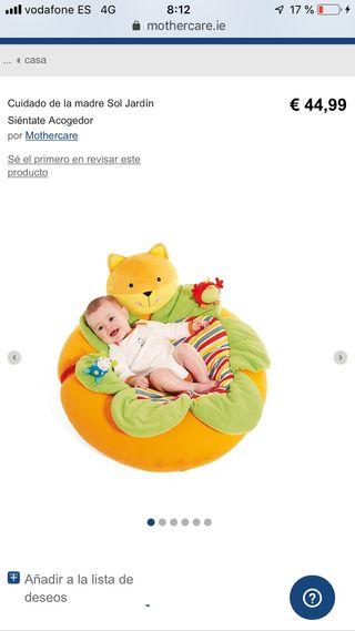 Sillón, nido, asiento bebe