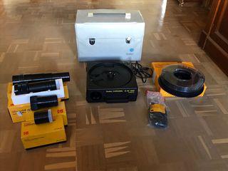 Proyector de diapositivas Kodak s-AV 1050