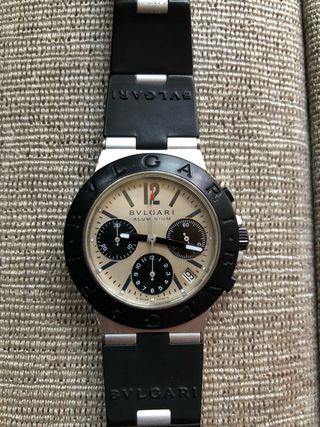 Reloj Bulgari Diagono Chrono Aluminium