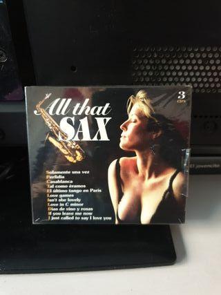 all that sax 3 discos 37 canciones precintado