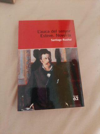 """Libre """"L'auca del senyor Esteve."""" Novel·la"""
