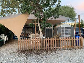 Caravana fija parcela avance camping bigastro