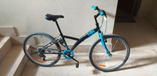 bicicleta montaña Junior 24 pulgadas