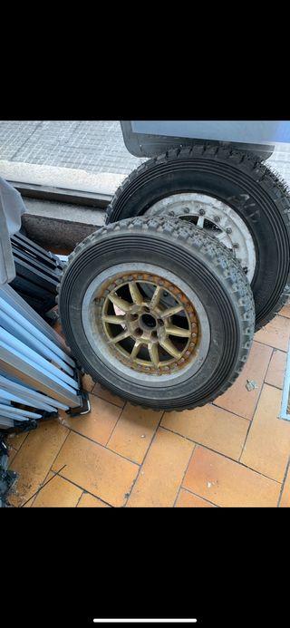 Neumáticos y llantas Braid tierra