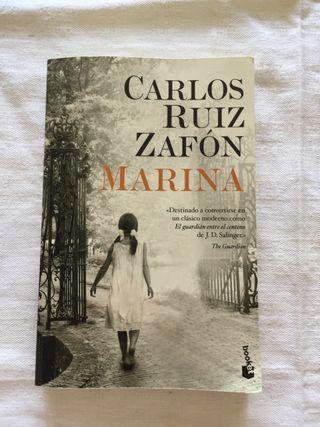 MARINA Carlos Ruiz Zafón ed. planeta