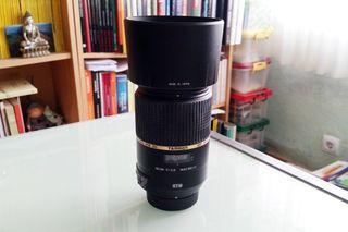 Objetivo Tamron 90 macro VC F2.8 Nikon como nuevo