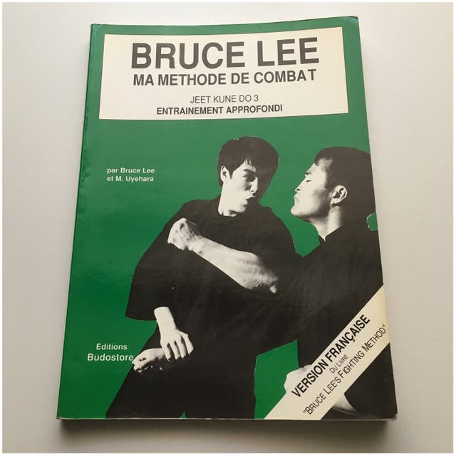 """Livre Broché """"Bruce Lee"""" en Français"""