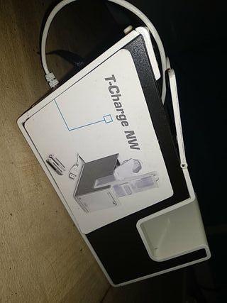 cargador de mando Wii y pilas