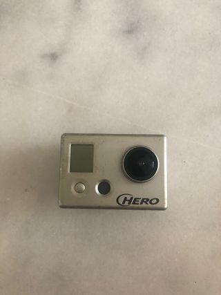 Go pro hero 1 (1080p) con Pantalla lcd trasera