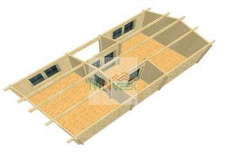 Casa de Madera Blanes2 32m2