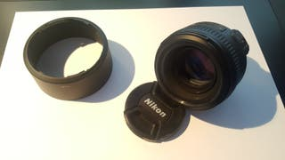 Objetivo Nikkor NIKON AF-S 50 f/1.4G