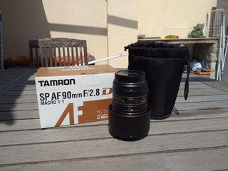 Objetivo Macro Tamron 90mm SP AF 2.8 Nikon