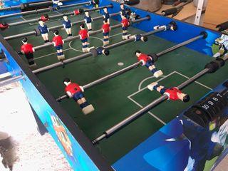 futbolin y juegos seis en uno