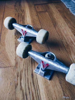 Ejes Skate venture + ruedas Jart + rodamiento Jart