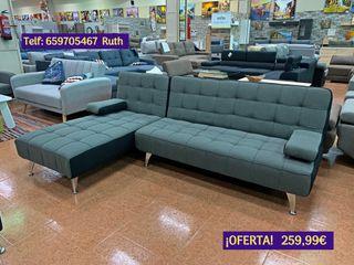 Sofá-cama chaiselongue