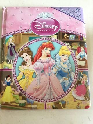 Libro princesas Disney busca y encuentra
