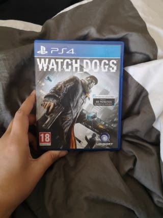 Watch dogs jeu PS4