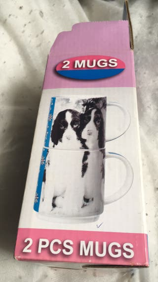 Brand new dog designed mugs