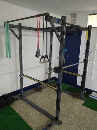 rack ,jaula CrossFit.