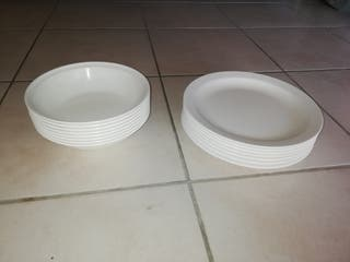 assiettes en polycarbonate
