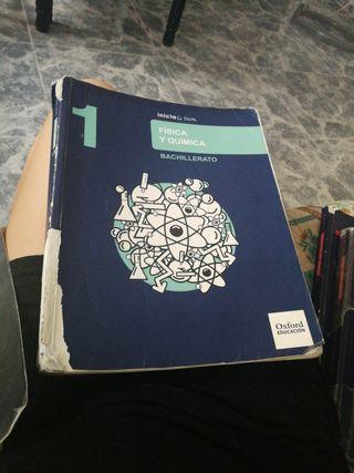 libro física y química 1° bachillerato oxford