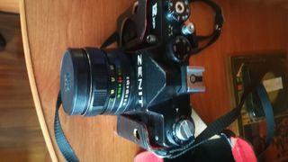 cámara de fotos analógica,