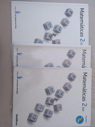 Pack Matemáticas 2°ESO Santillana