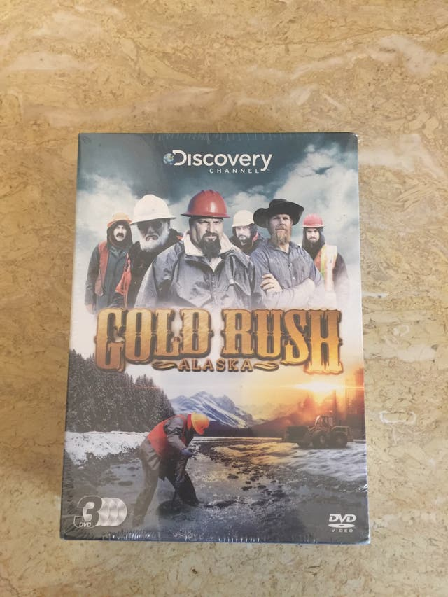 Gold rush series (bran new still in packaging)