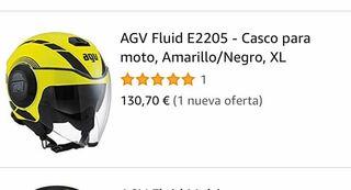 Casco AGV fluid jet