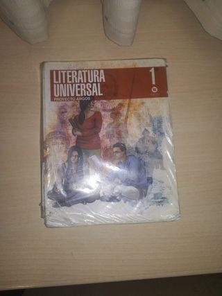 venta de libro de literatura universal 1 bachiller