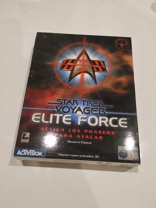 Juego PC antiguo Star Trek Voyager elite force