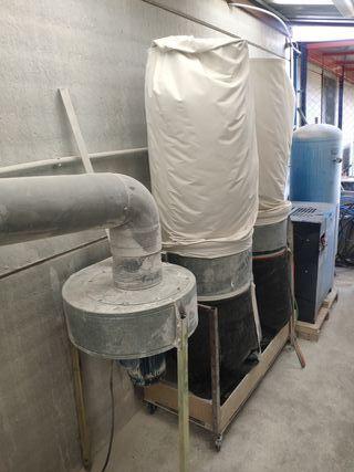 Aspirador Industrial ciclón 3.3Kw