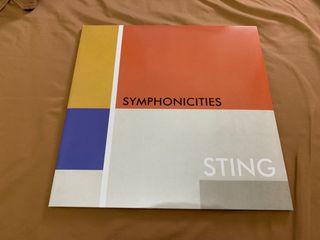 STING SYMPHONICITIES Disco vinilo doble LP Police