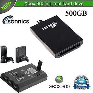 Sonnics - 500GB - Xbox 360 Internal Slim Hard Driv