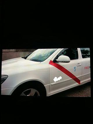 Licencia de taxi miércoles impar