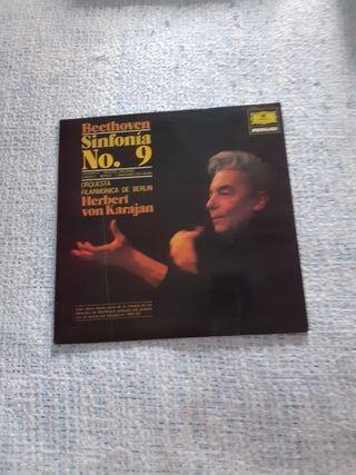 Disco vinilo Beethoven Sinfonía n. 9