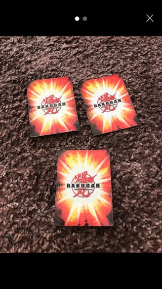 Bakugan trading cards