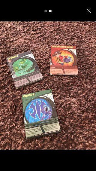 Bakugan trading cards