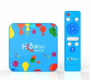 ANDROID TV H96 MINI 4GB RAM 128GB ROM 6K ULTRA HD