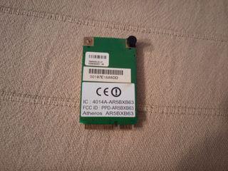 Tarjeta de red WLAN mini PCI Atheros