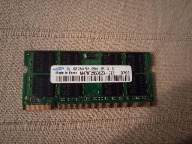 Memoria RAM Samsung DDR2 1GB